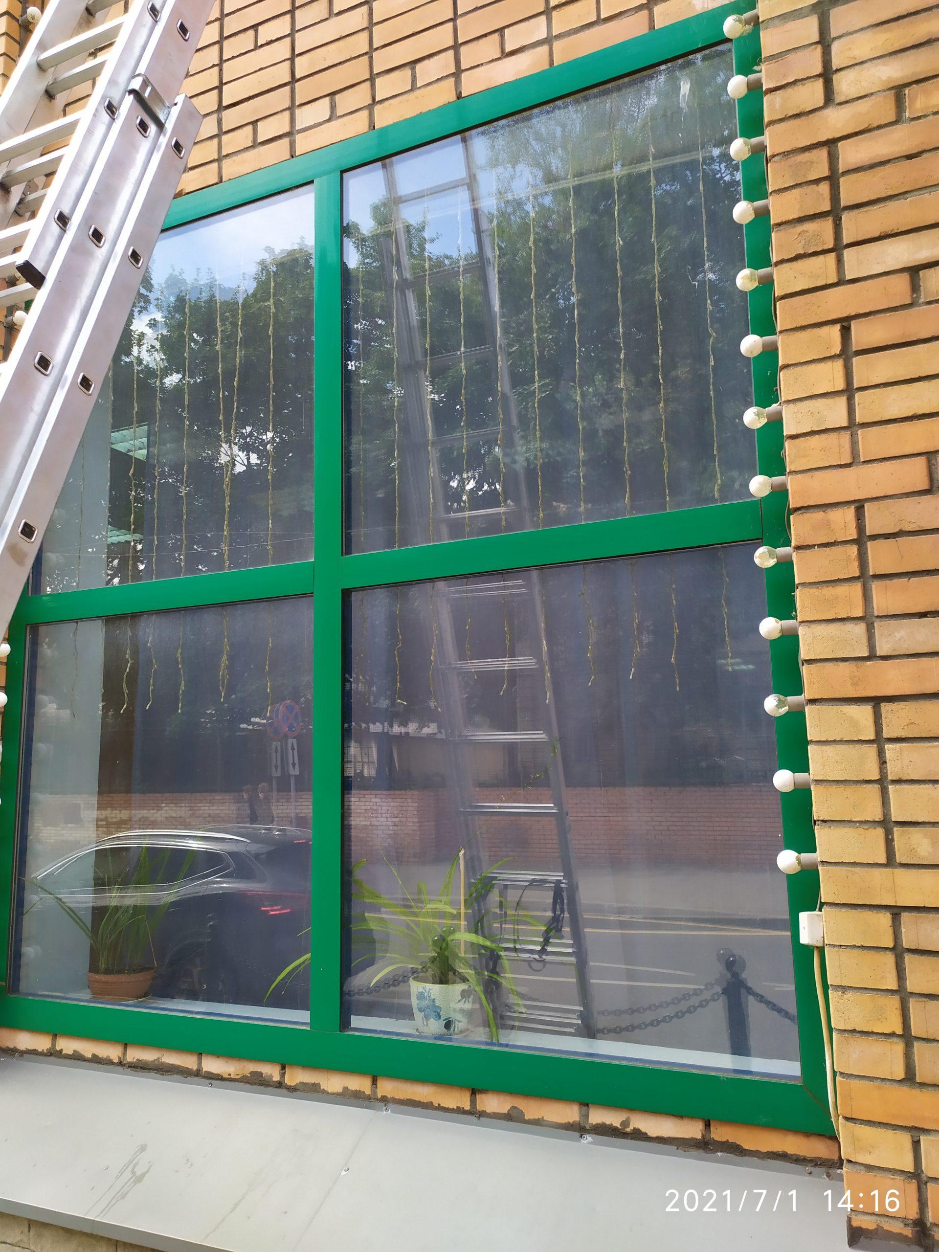 Мойка окон и фасадов зданий Фото 14