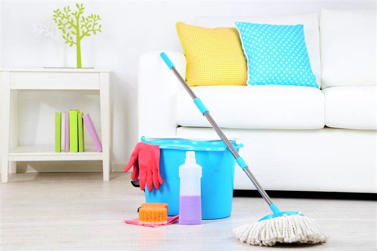 Уборка дома клининговой компанией