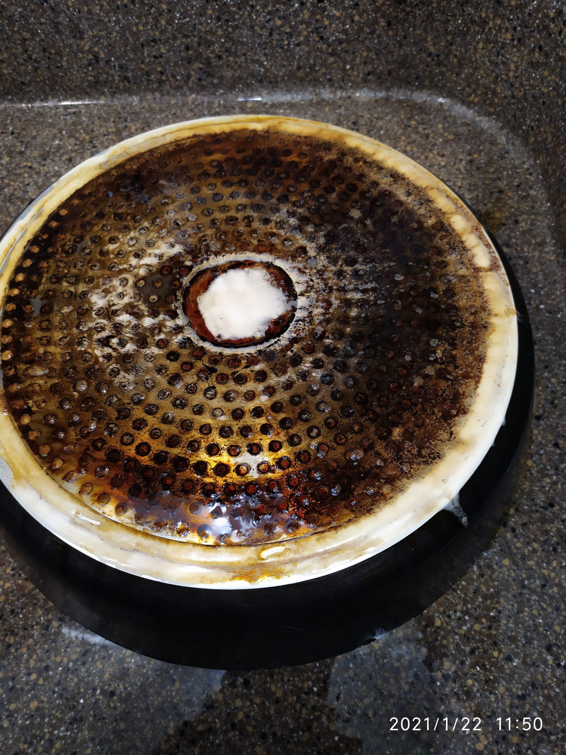 Чистка сковородки