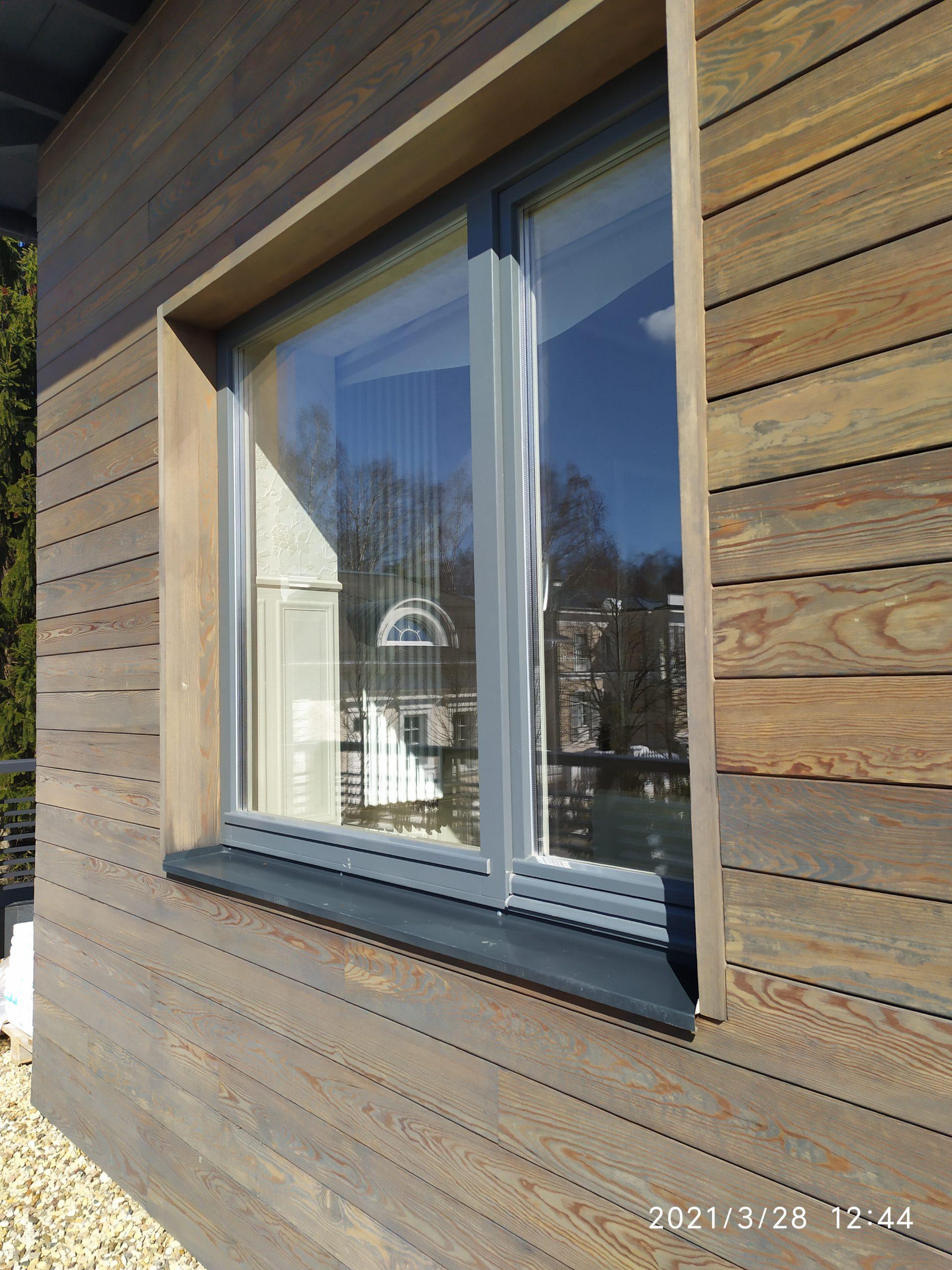 Мойка окон частного дома фото 4