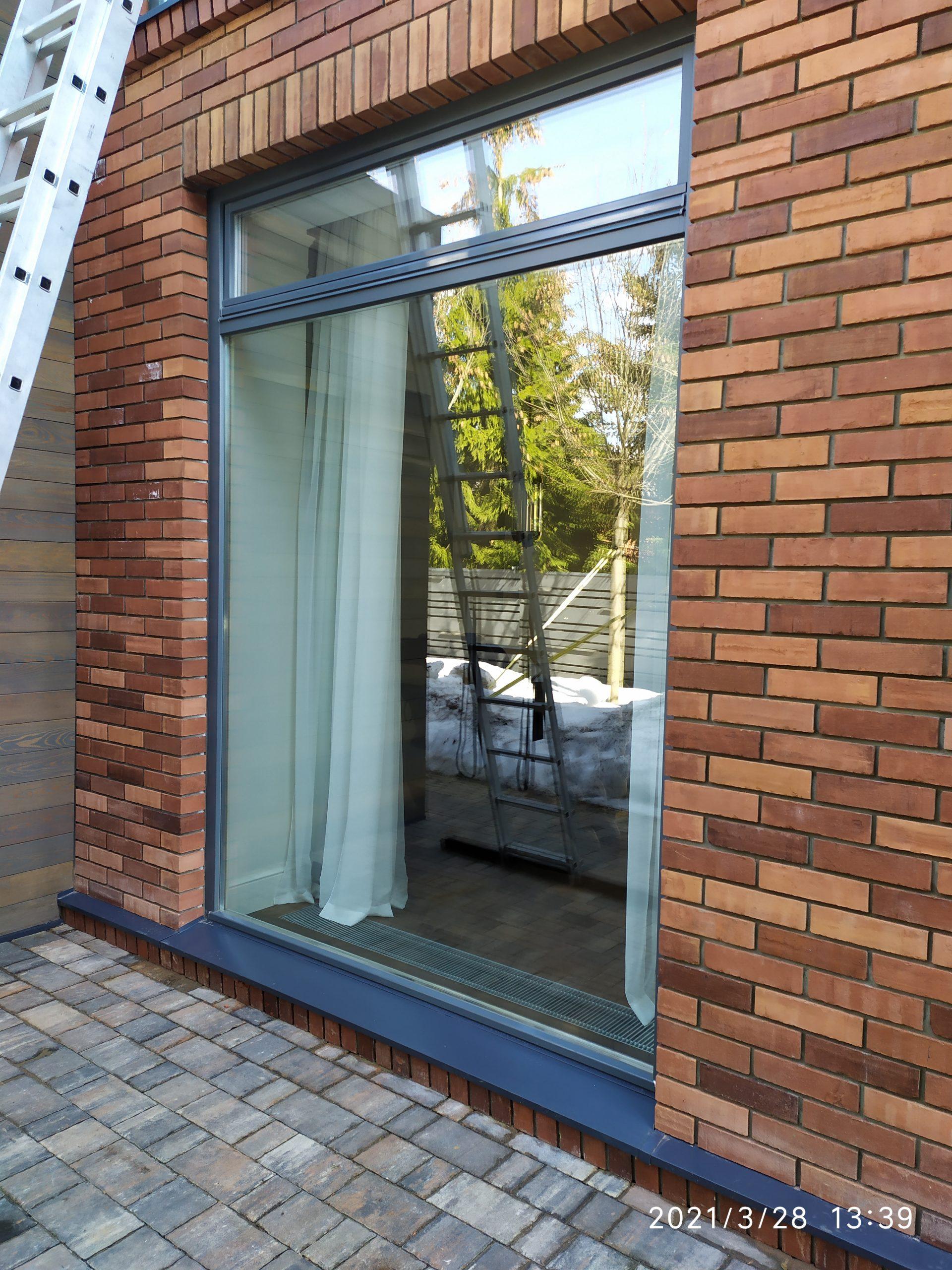 Мойка окон частного дома фото 7
