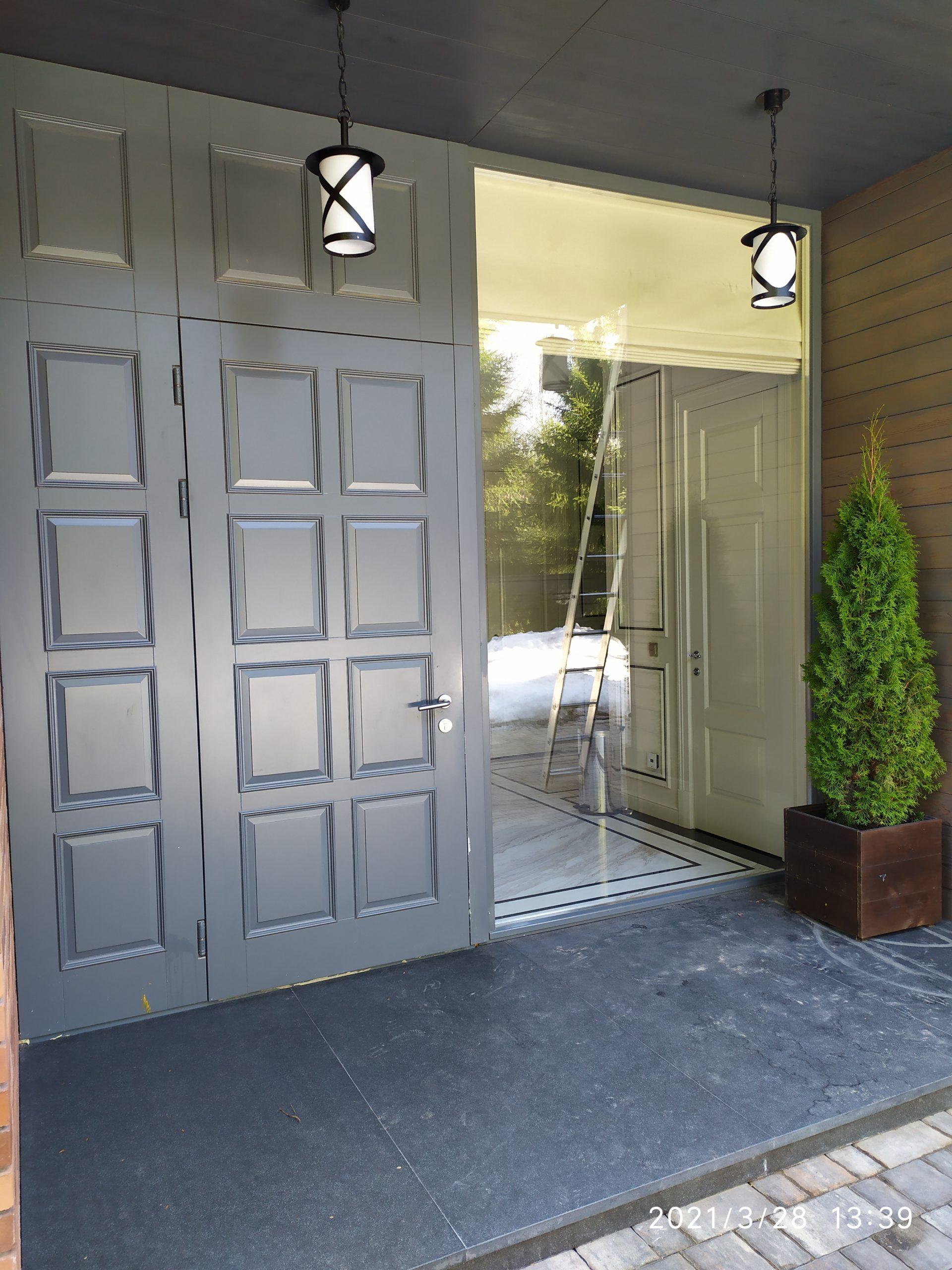 Мойка окон частного дома фото 8