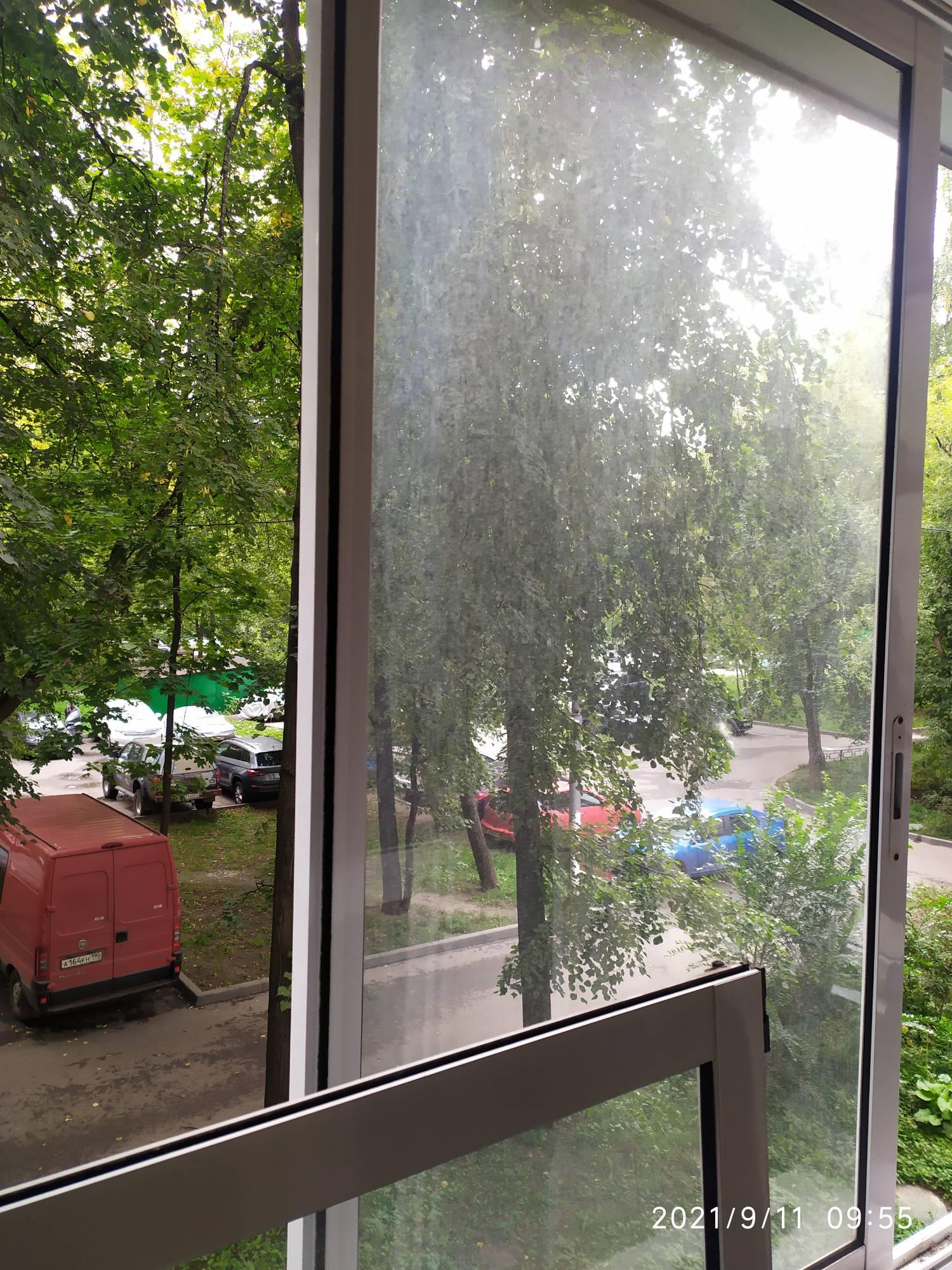 Мойка окон на балконе Фото 1