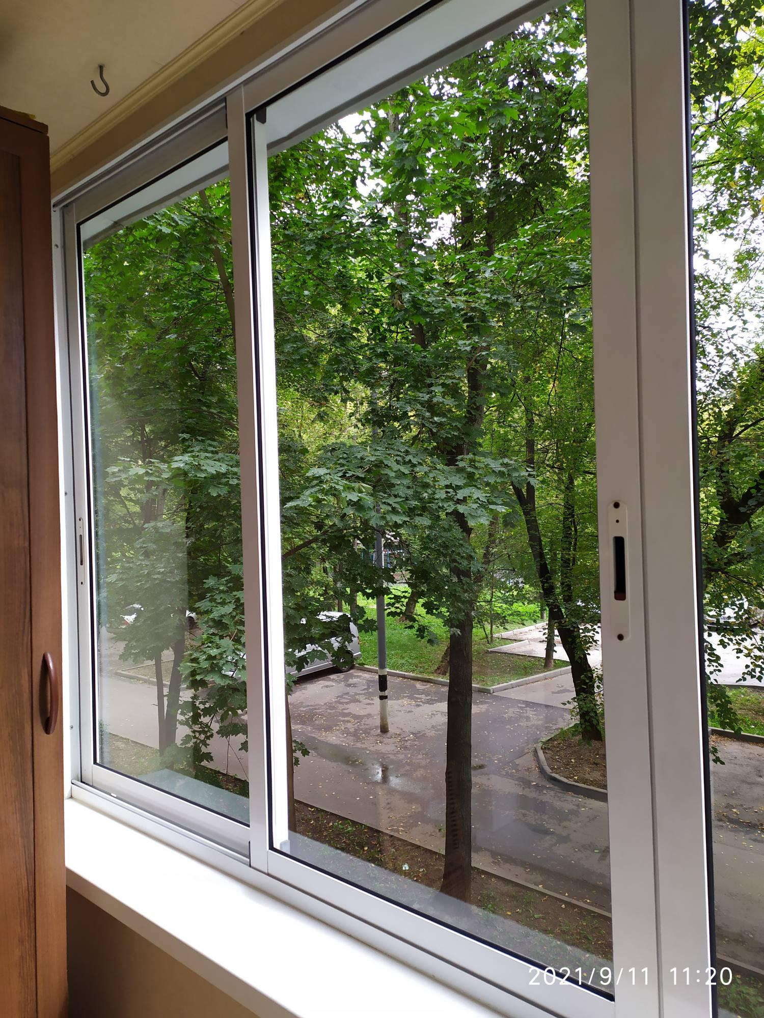 Мойка окон на балконе Фото 3