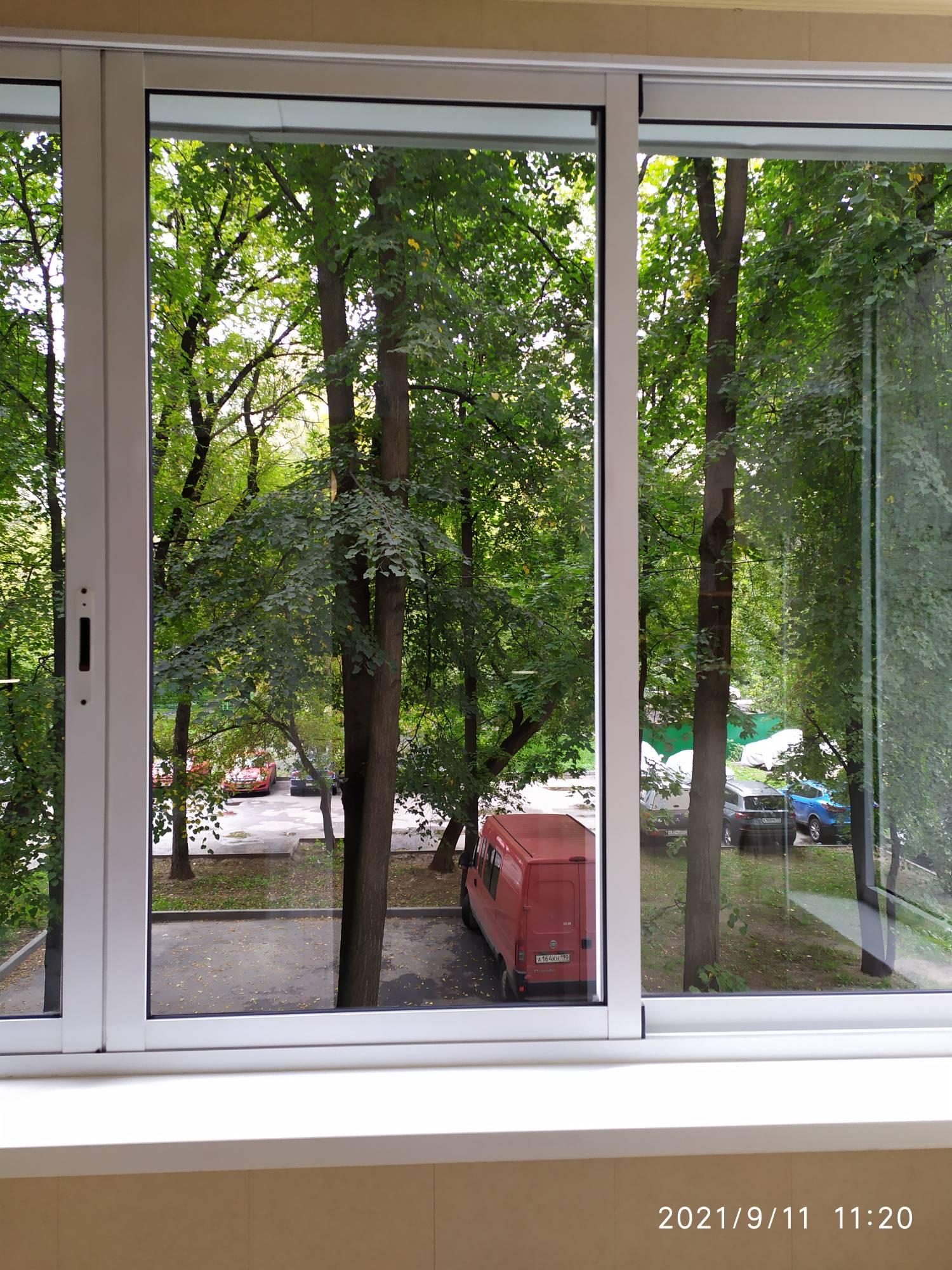 Мойка окон на балконе Фото 4